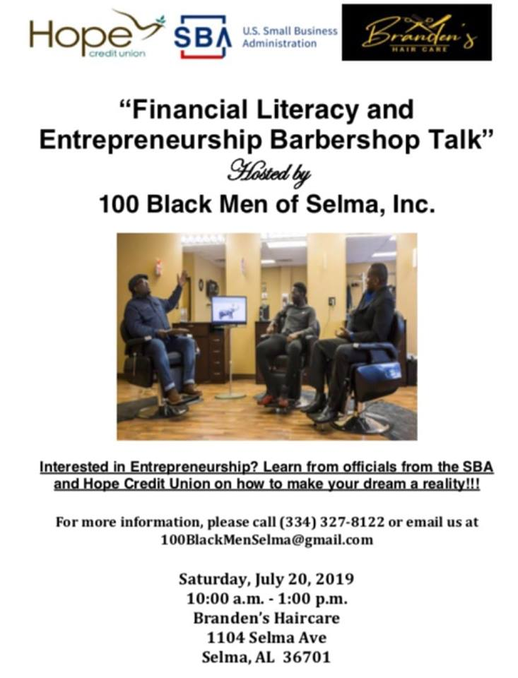 100 Black Men Selma Financial Literacy