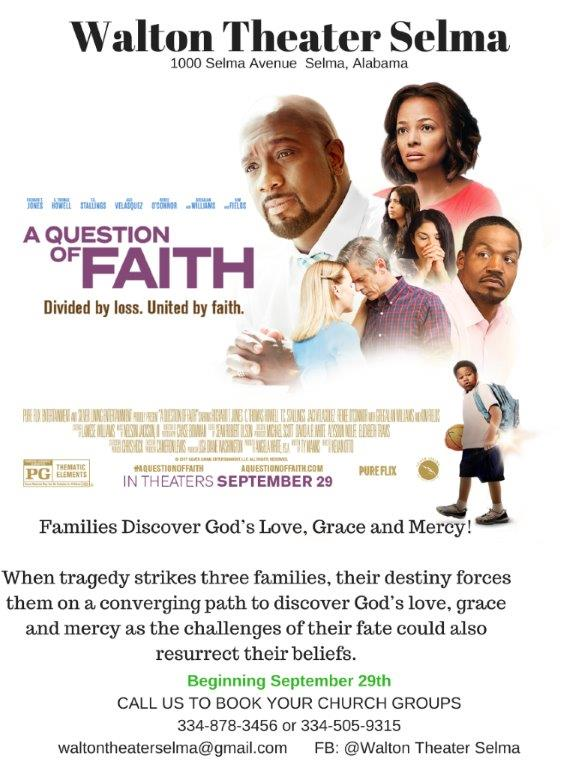 A Queation Of Faith Flyer2
