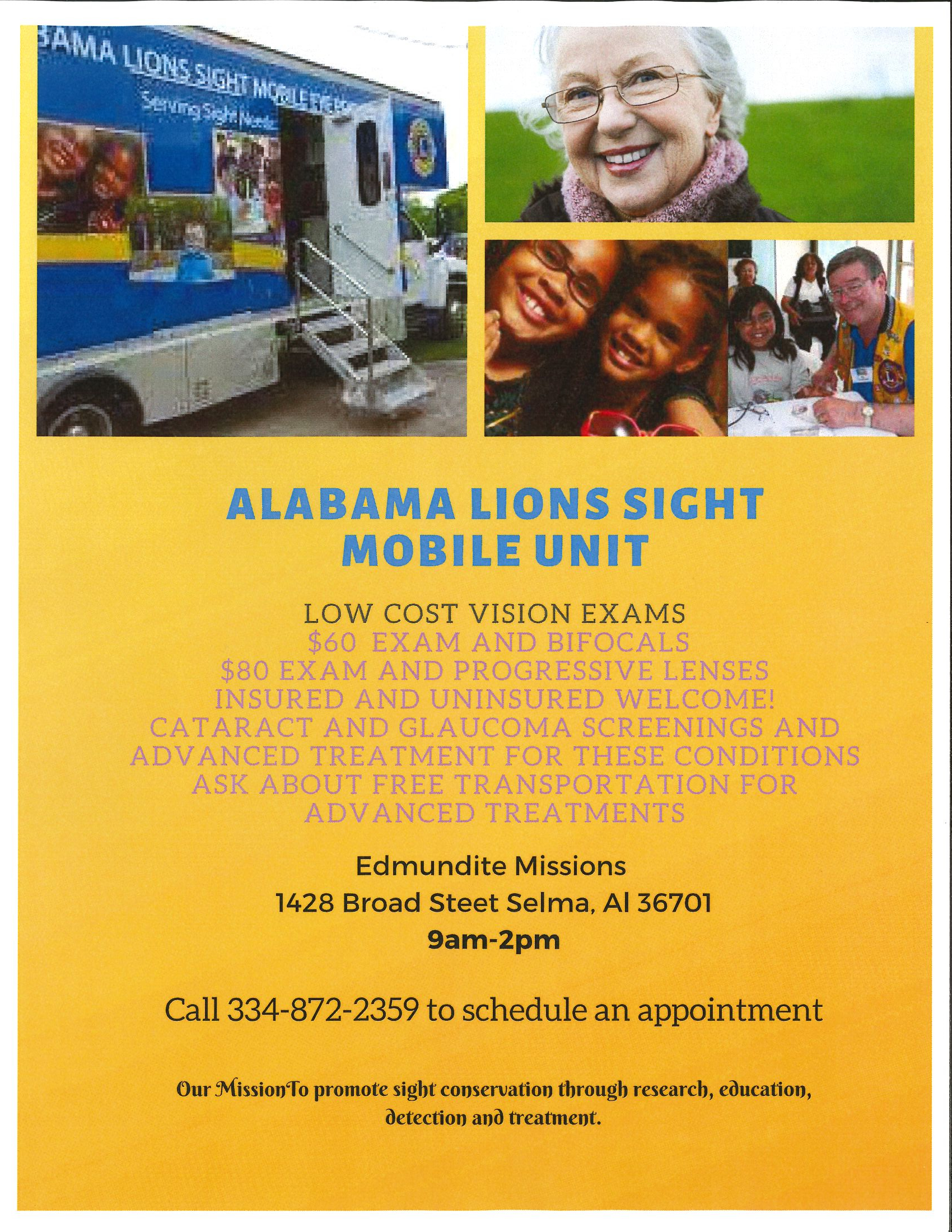 Alabama Lions Sight Mobile Unit
