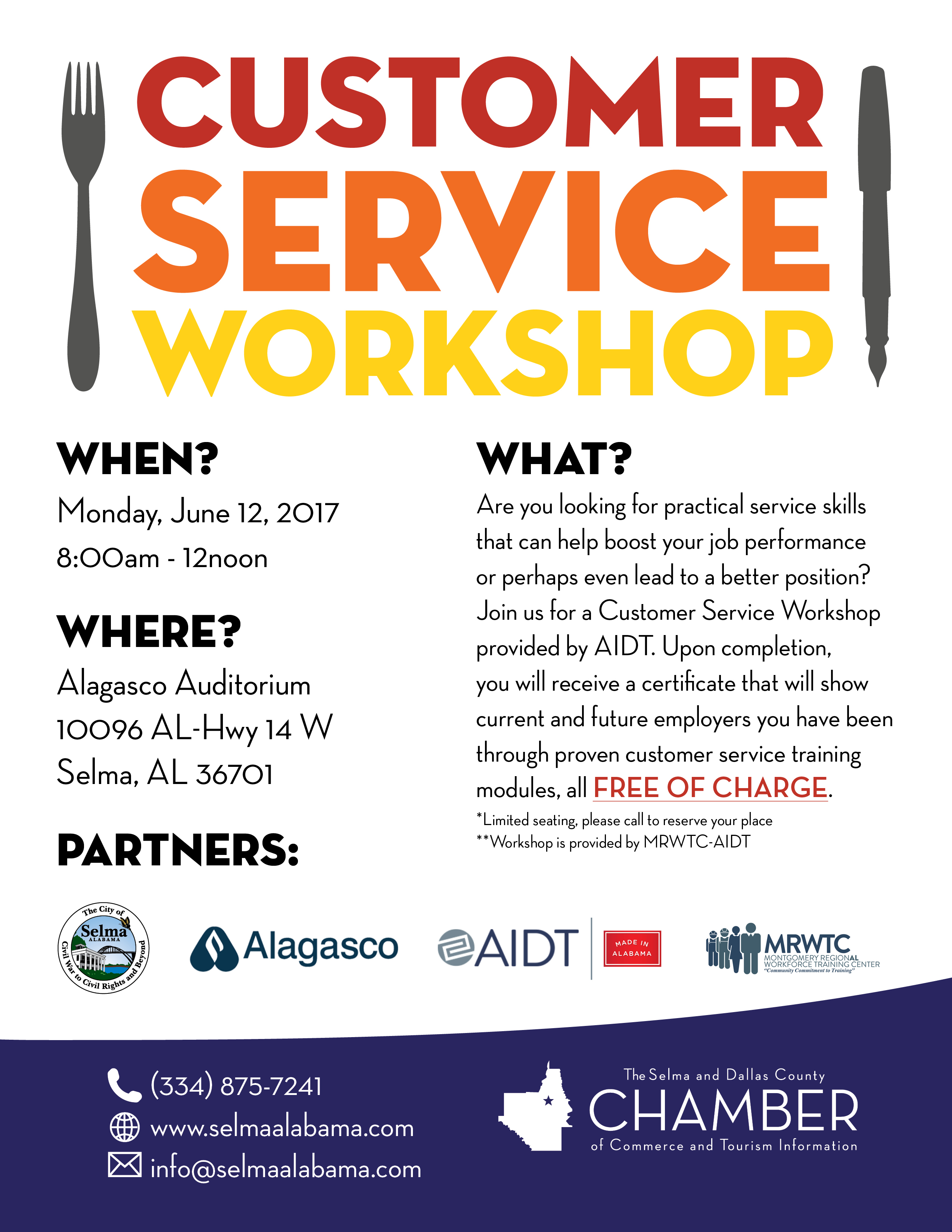 6.12.17 AIDT Customer Service Workshop