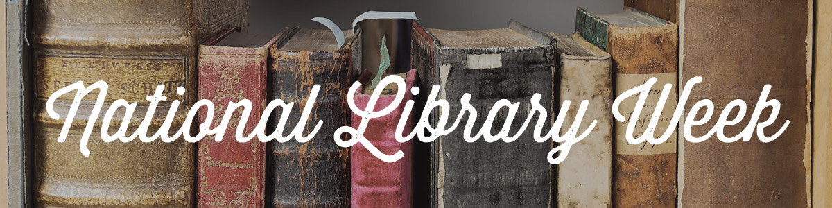 National Library Week Header