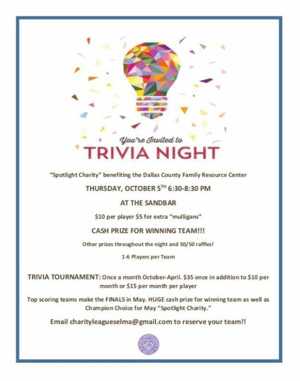 Charity League Trivia Night