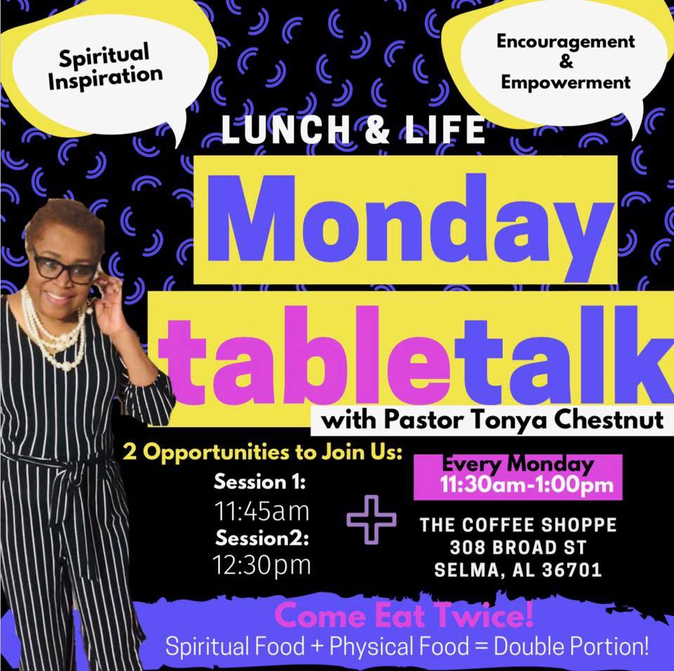 Coffee Shoppe Monday Table Talk
