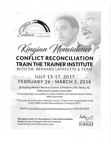 Conflict Reconciliation Train the Trainer Institute