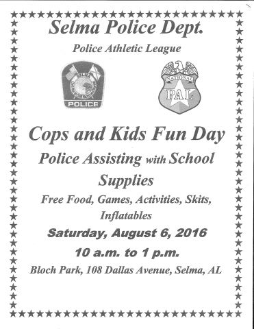 Cops and Kids Fun Day 2016
