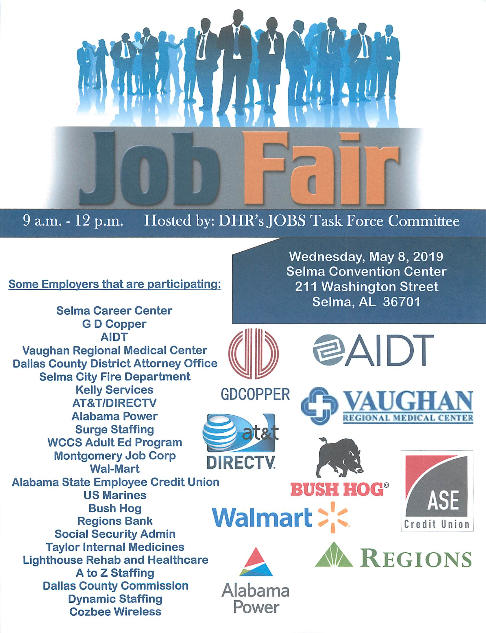 Dallas County DHR JOBS Fair