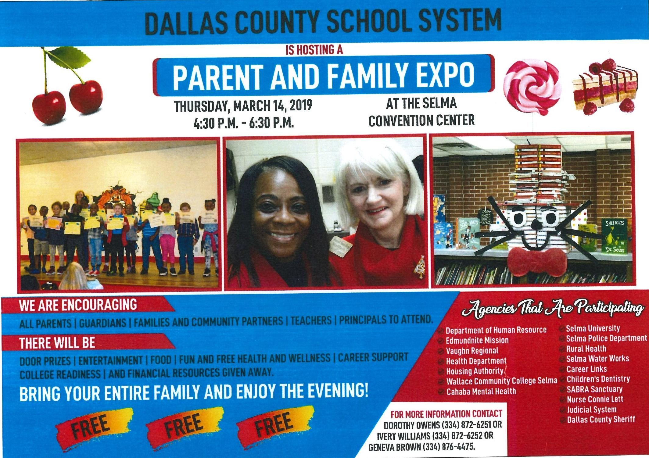 Dallas County School System Parent and Family Expo
