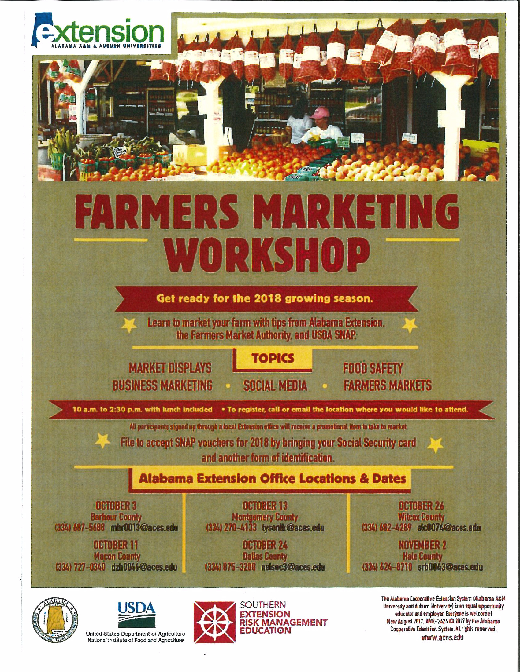 Famers Marketing Workshop