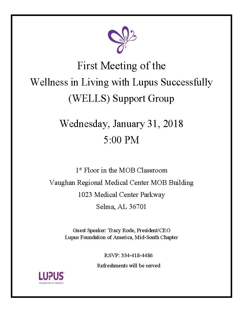 First Meeting Lupus Flyer 002