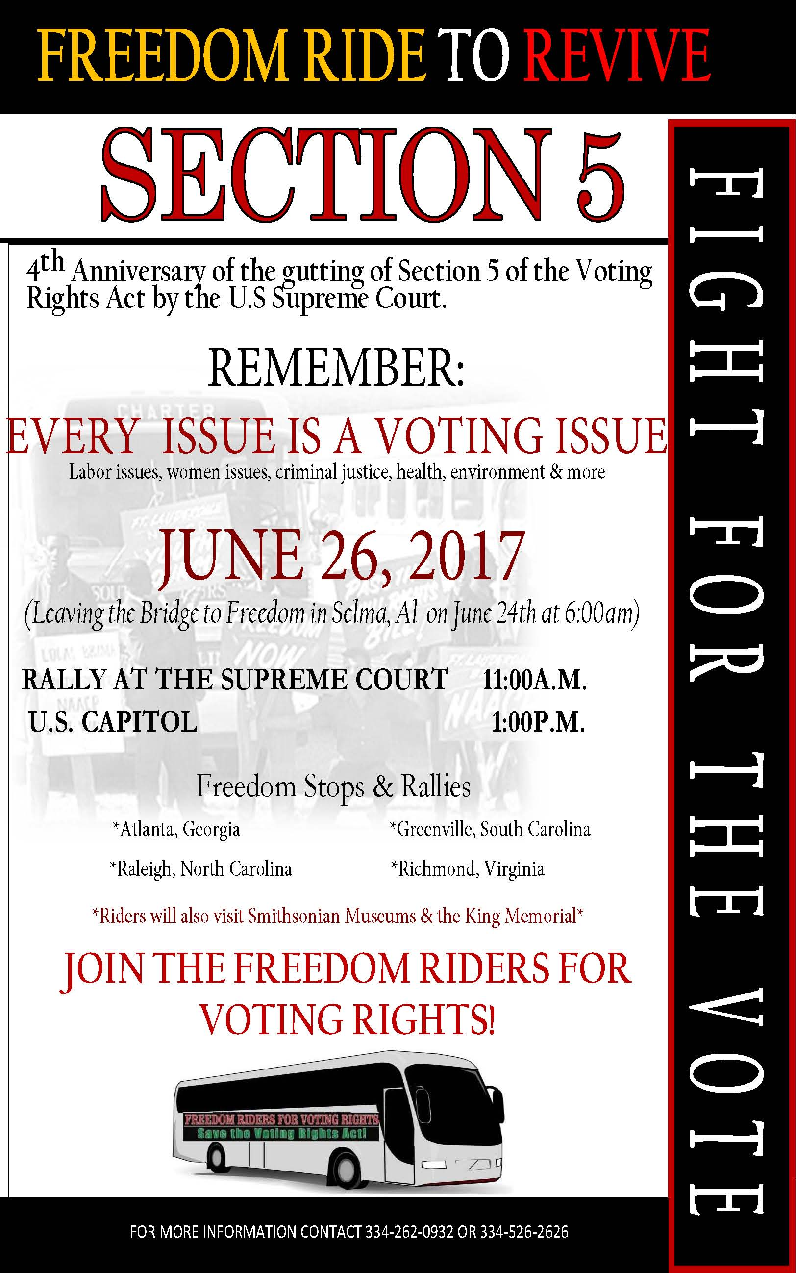 Freedom Riders Flyers2017