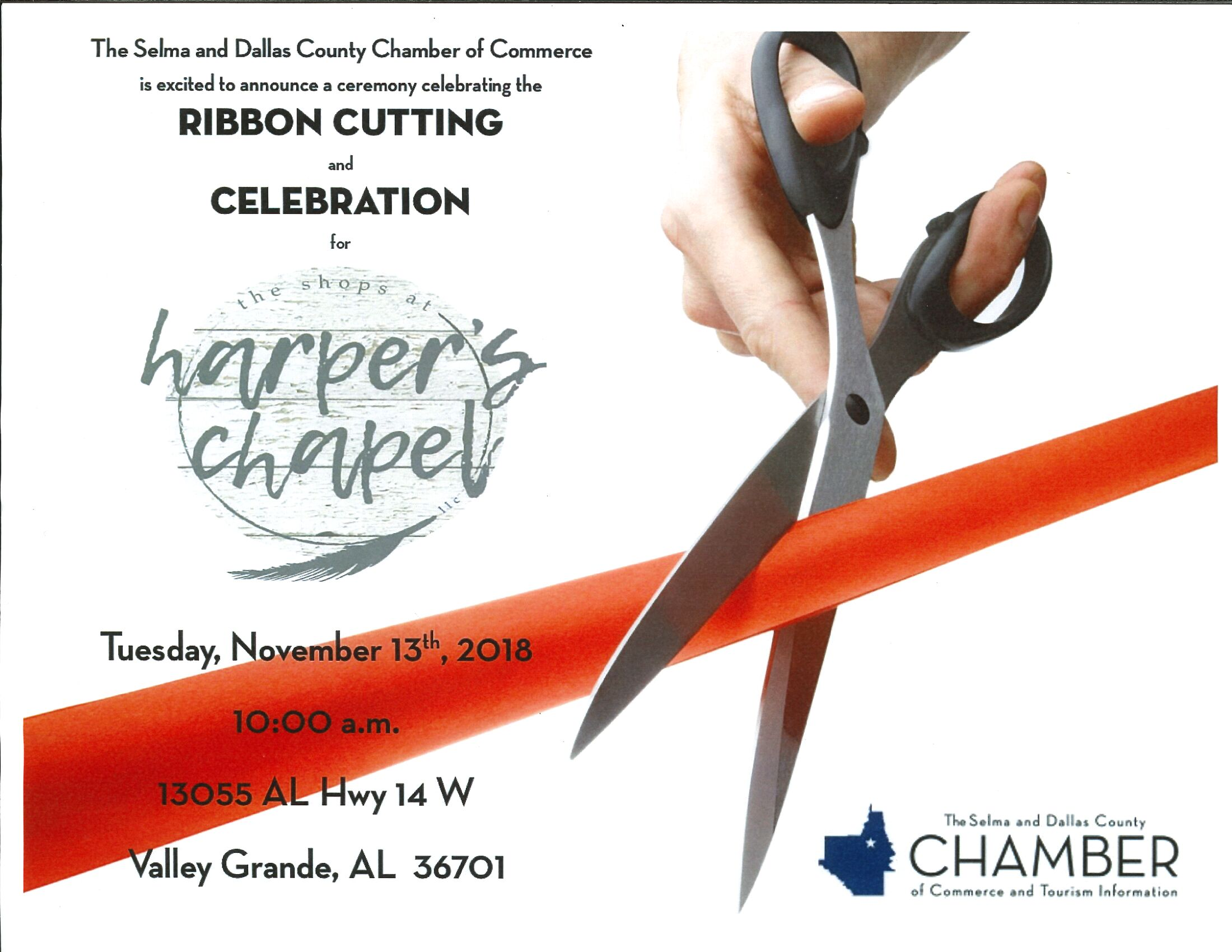 Harpers Chapel Ribbon Cutting