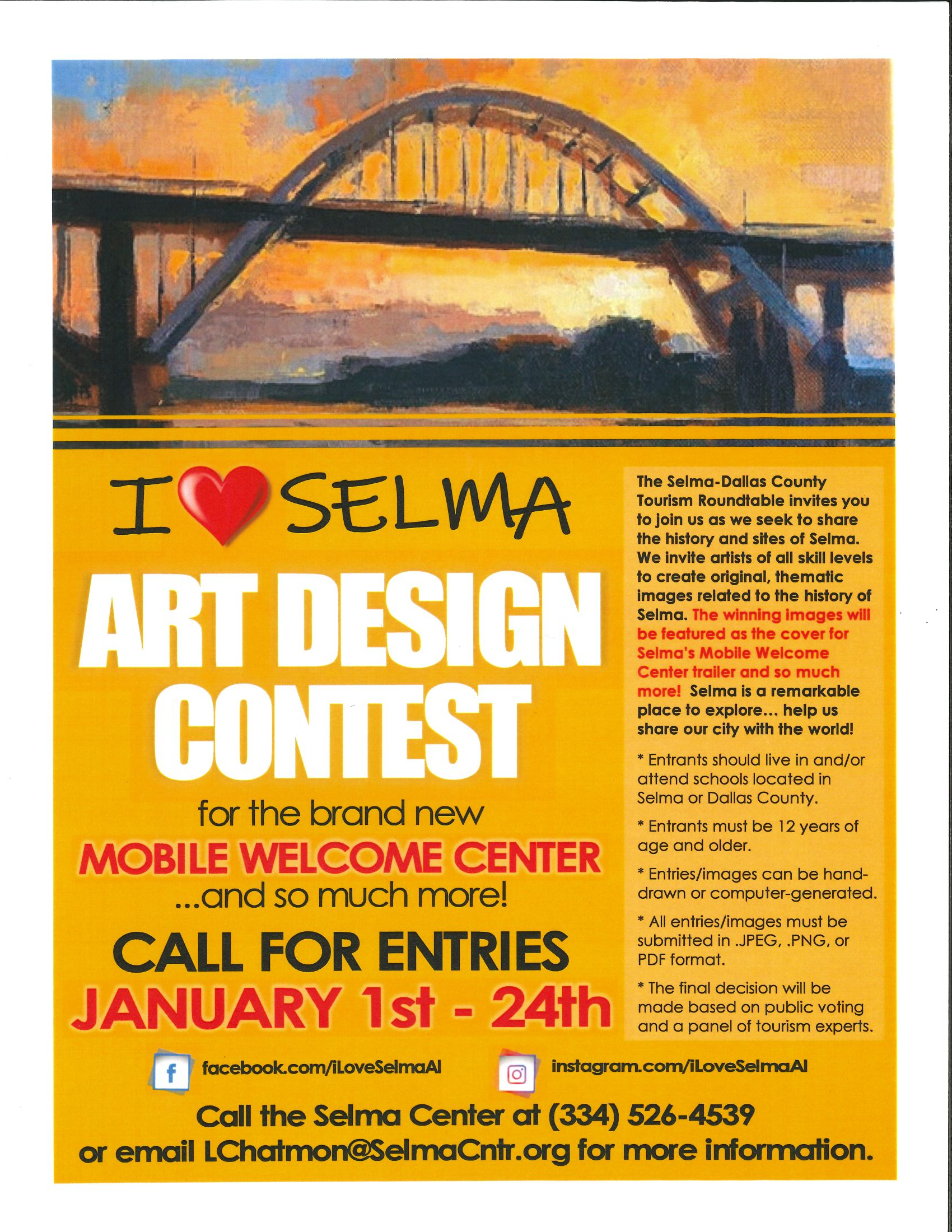 I Love Selma Art Design Contest Pg 1