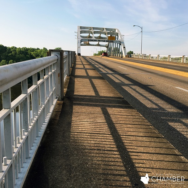Edmund Pettus Bridge Deck at Sunrise