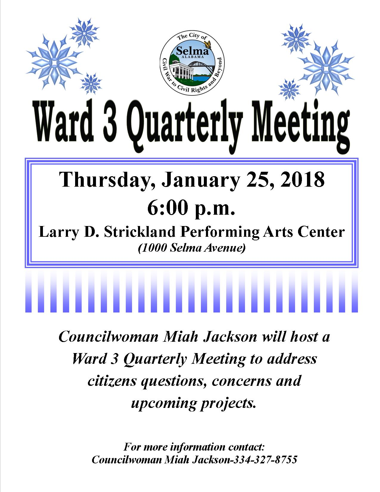 Jackson Ward 3 Meeting Flyer 1. 25.2018