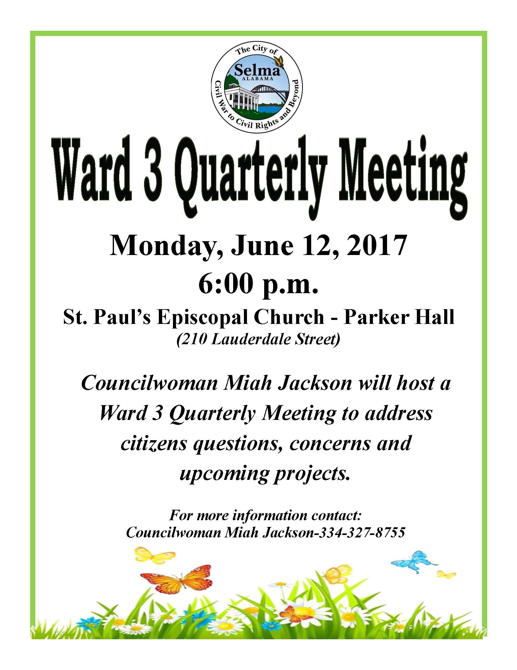 Jackson Ward 3 Meeting Flyer 6.12.17