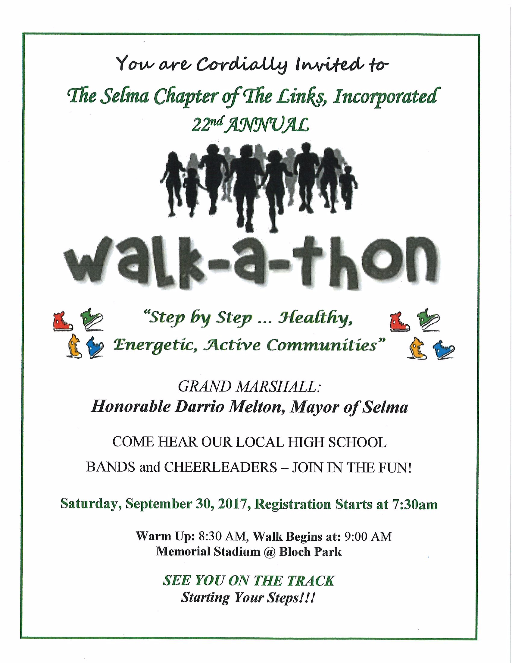 Link Walk a thon Page 1
