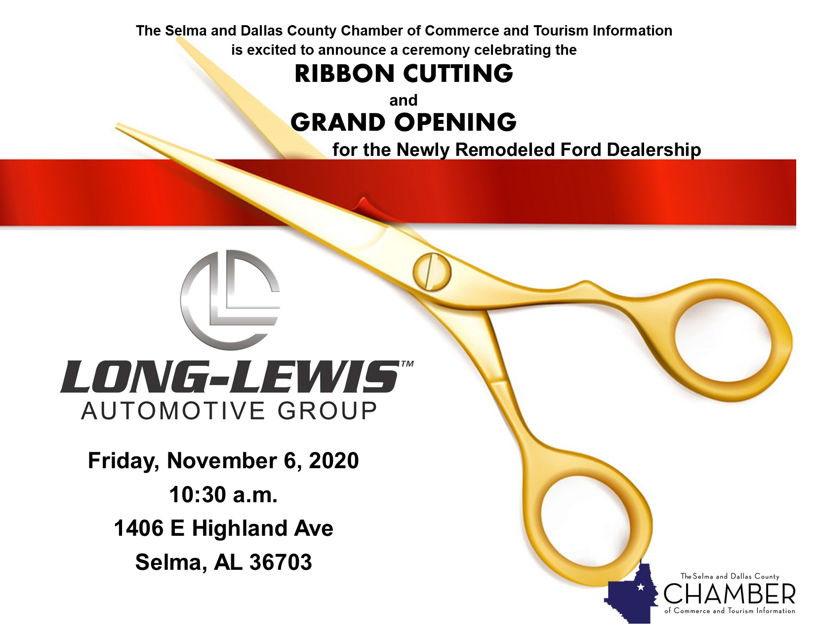 Long Lewis Selma Grand Opening Ribbon Cutting Celebration
