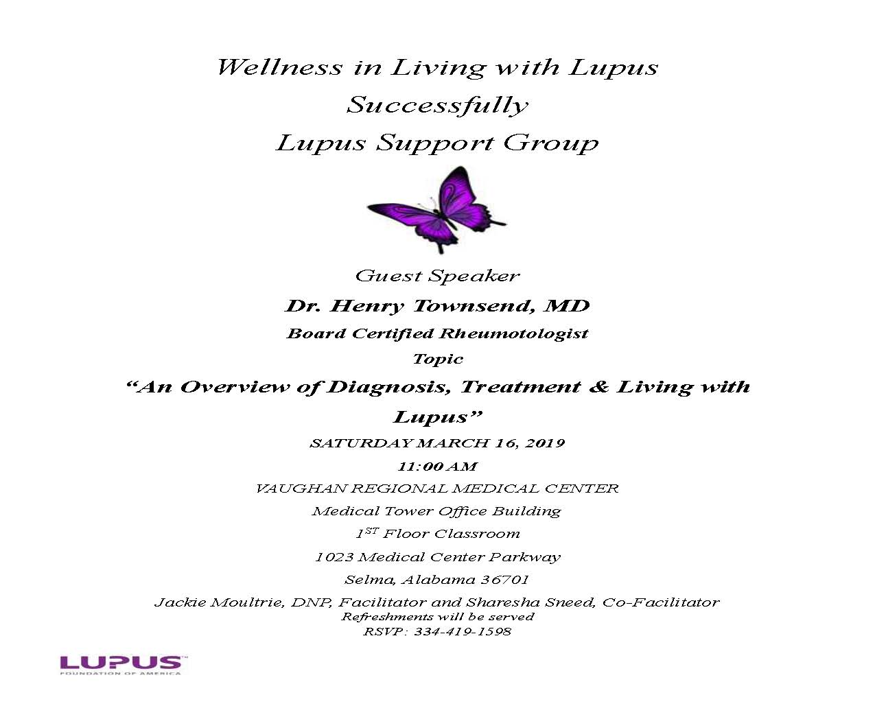 Lupus Flyer for March 2019 Page 1