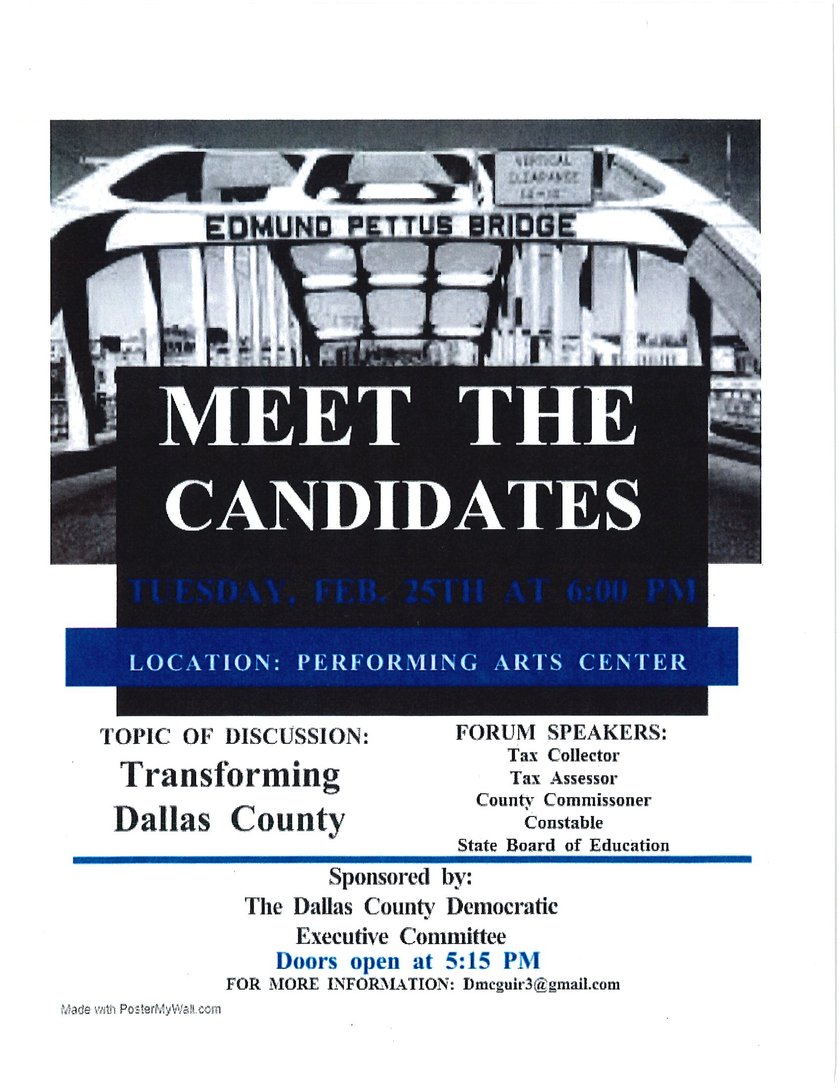 Meet the Candidates Feb