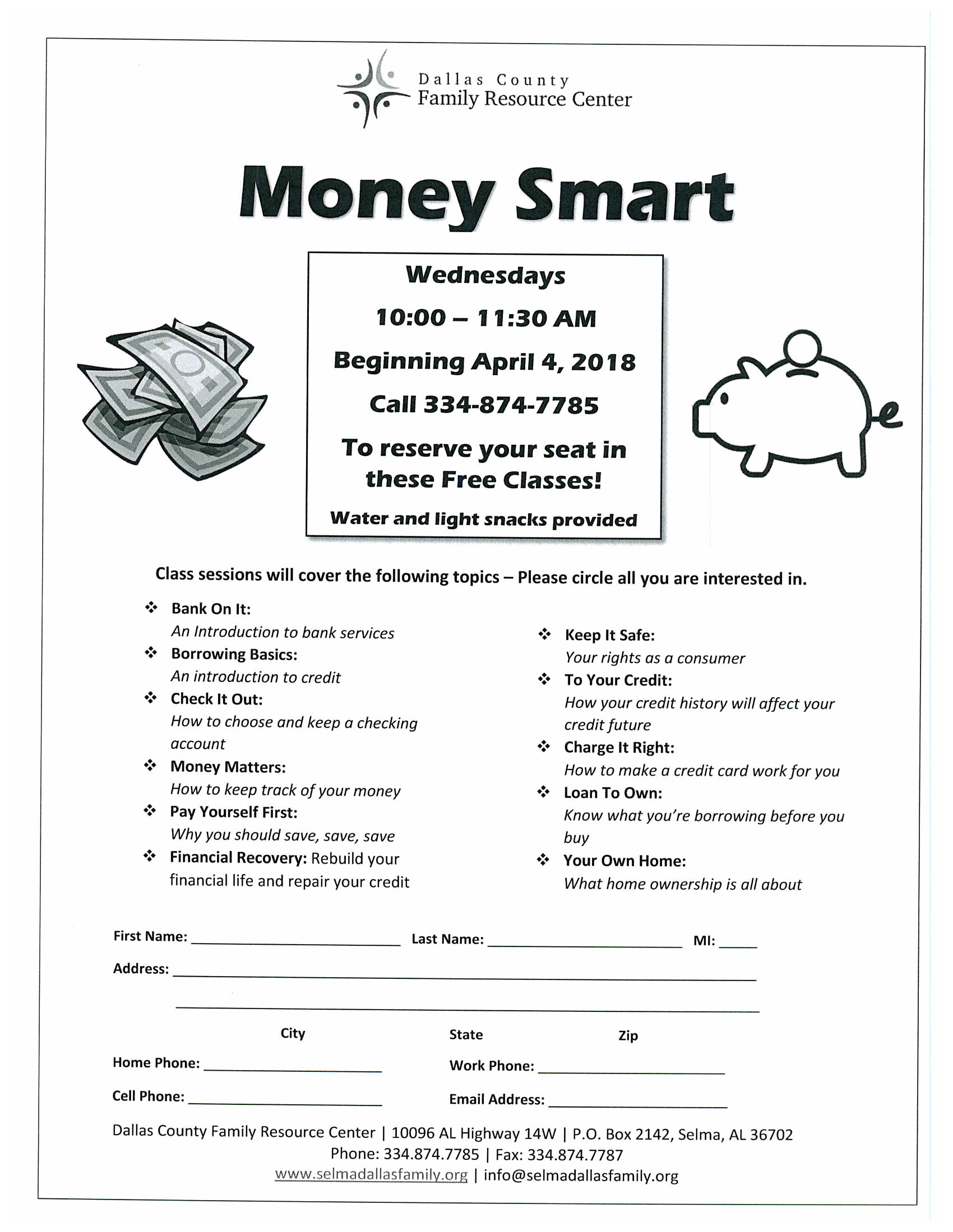 Money Smart Classes