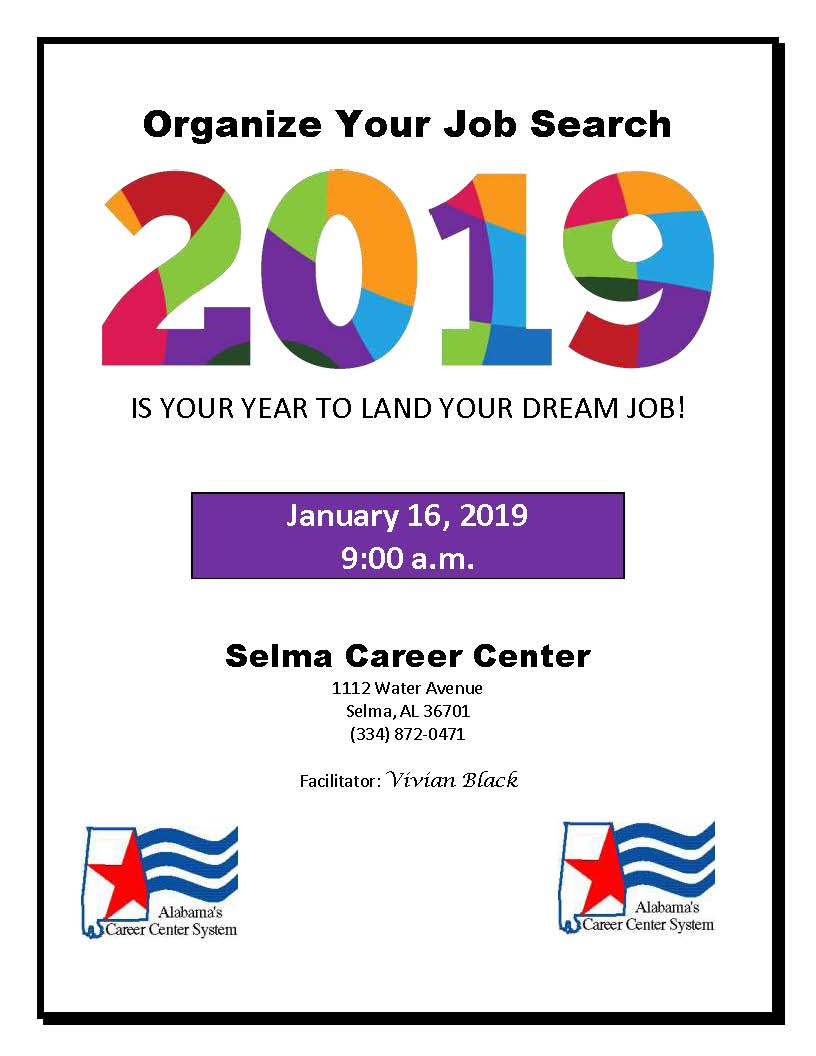 Organize Your Job Search 2019