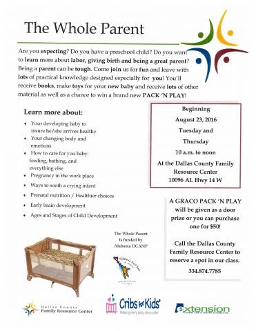 Parenting flyer and application  Page 1