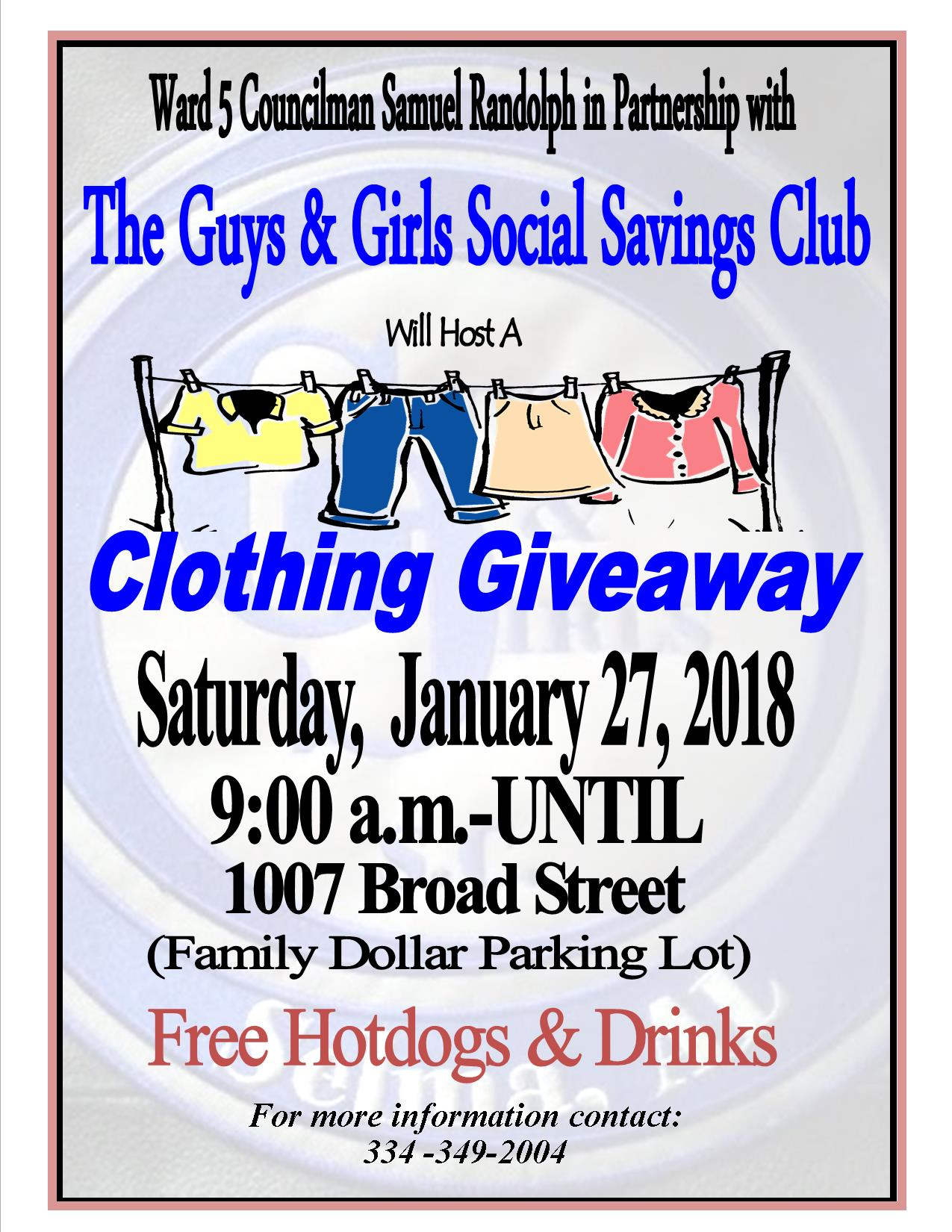 Randolph Clothing Giveaway 1.27.18