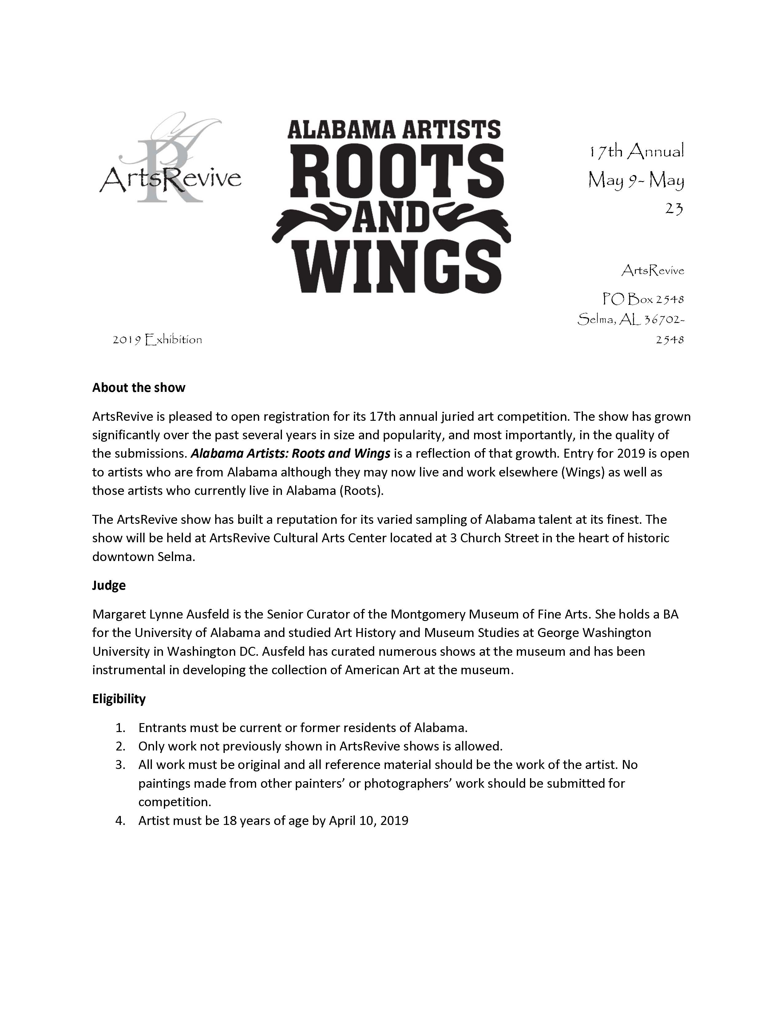 Roots and Wings Application Page 4