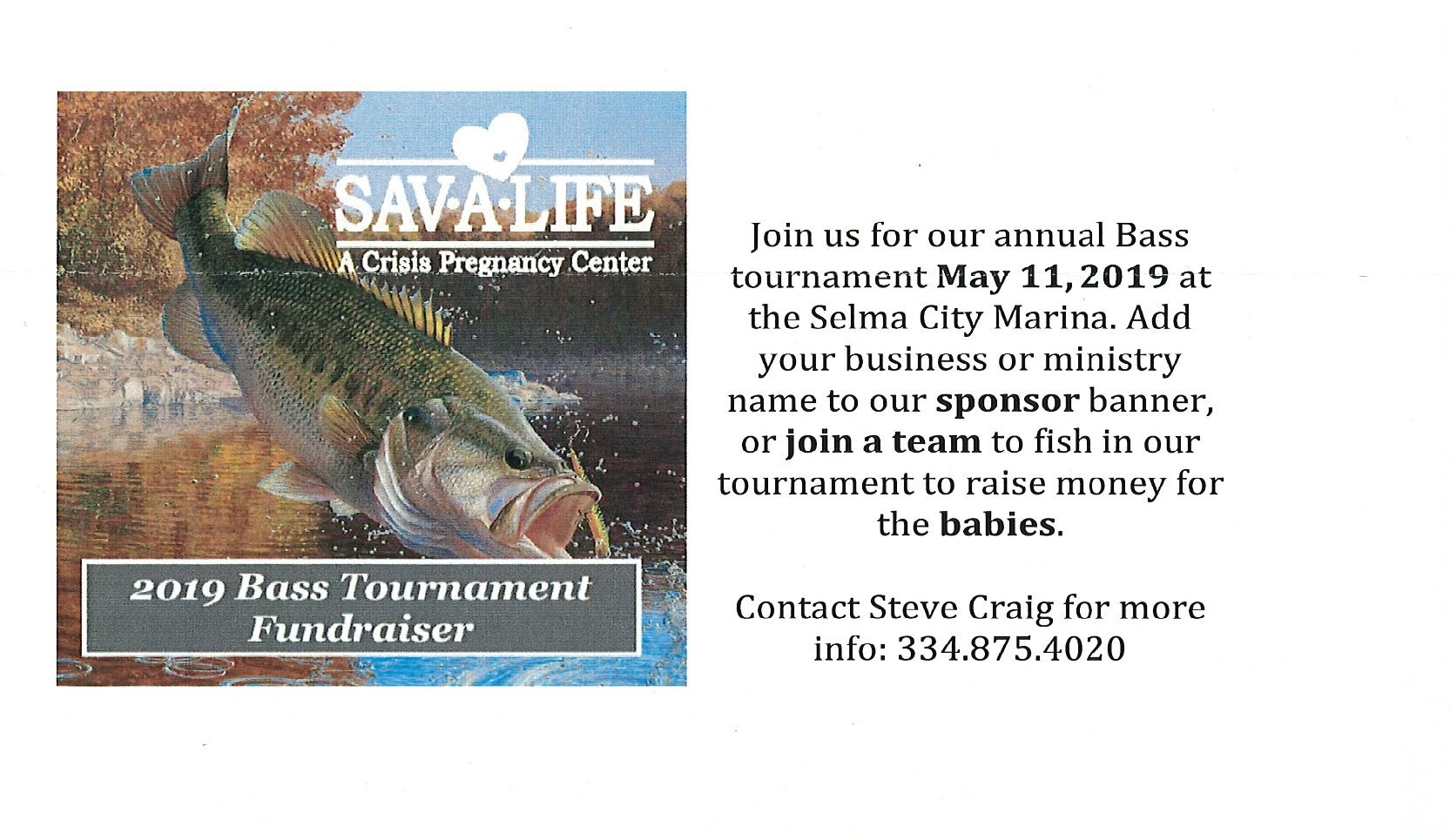 Sav A Life Bass Tournament Fundraiser.jpg