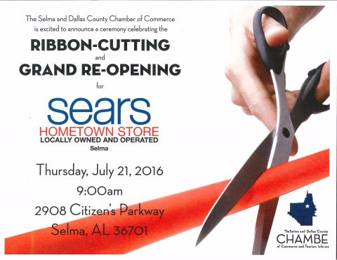 Sears Ribbon Cutting and Reopening