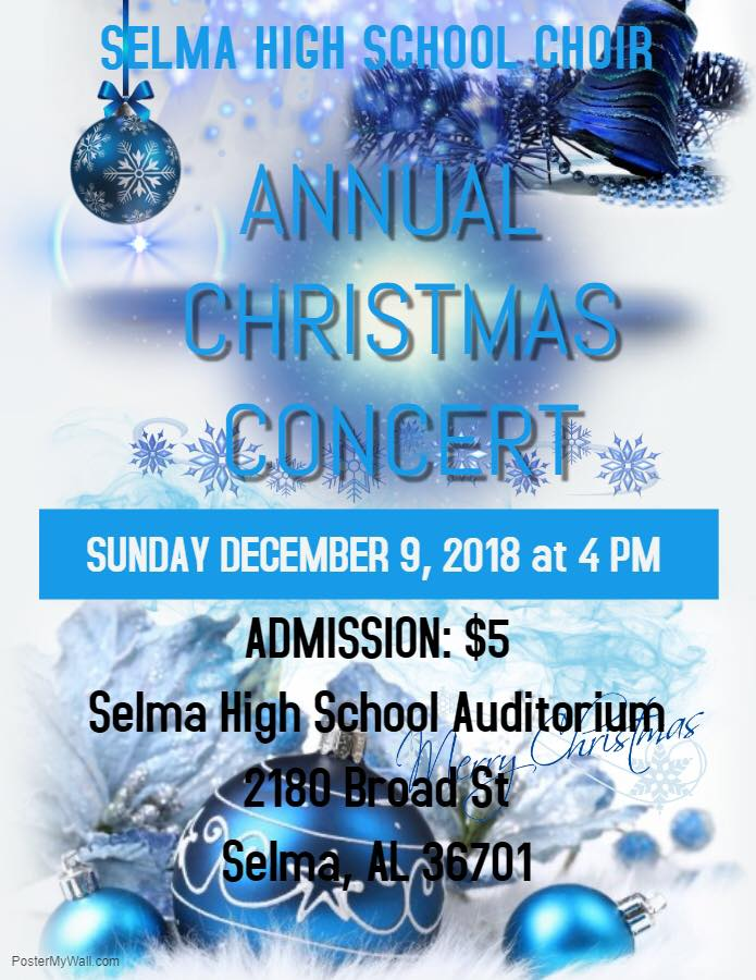Selma High School Choir Christmas