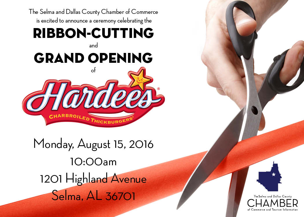 Hardees Ribbon Cutting 8 15 16