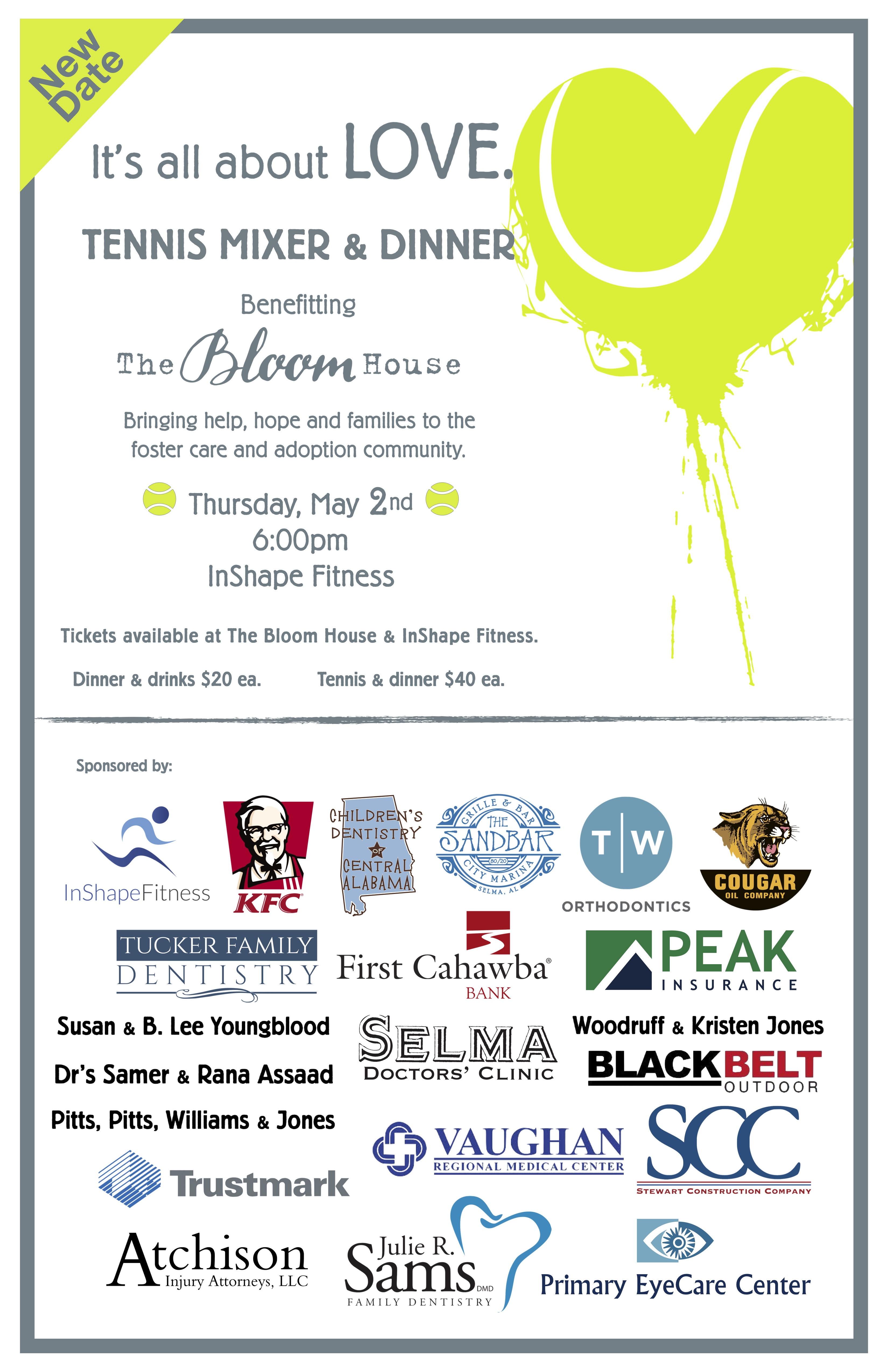 Tennis Mixer New Date
