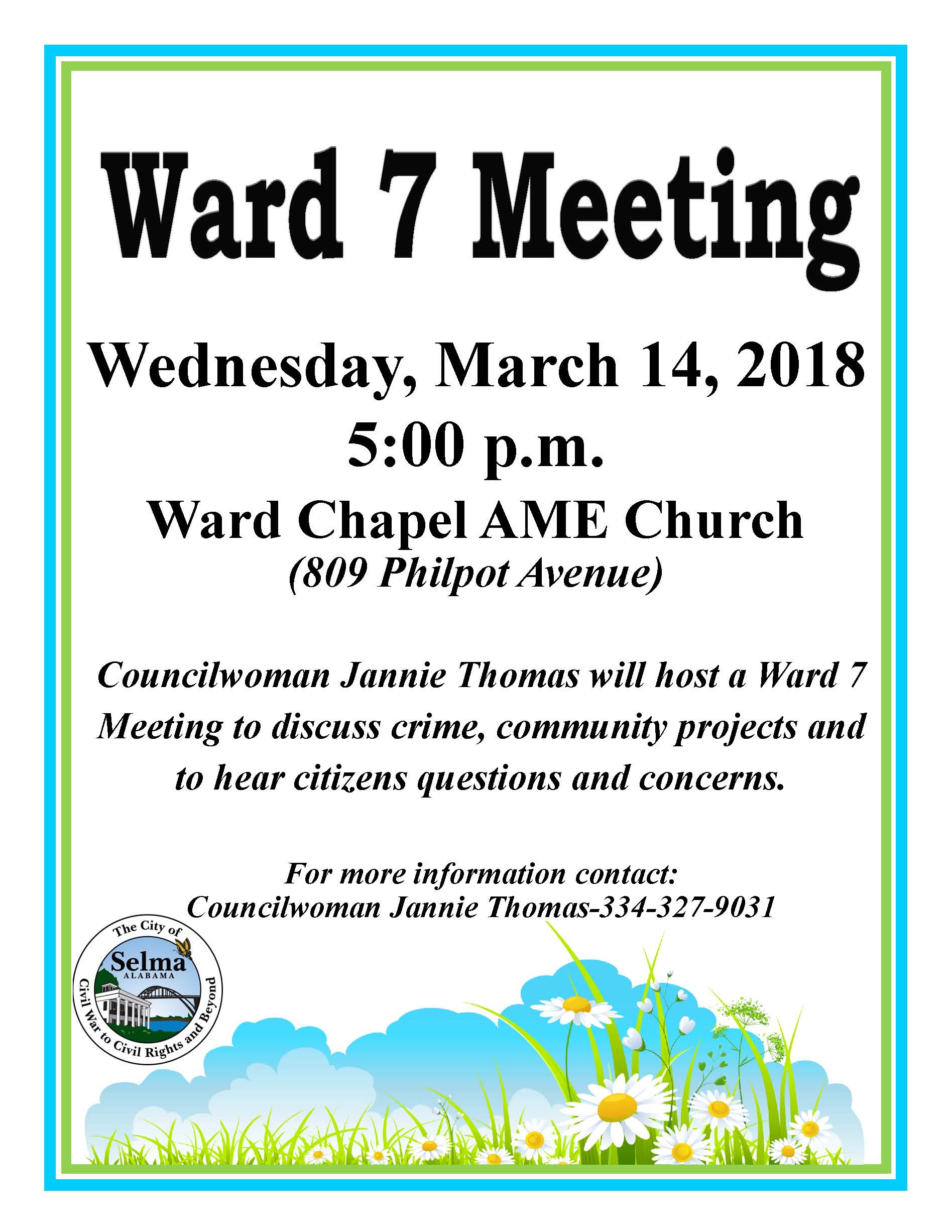 Thomas Ward 7 Meeting Flyer June 3.14.18