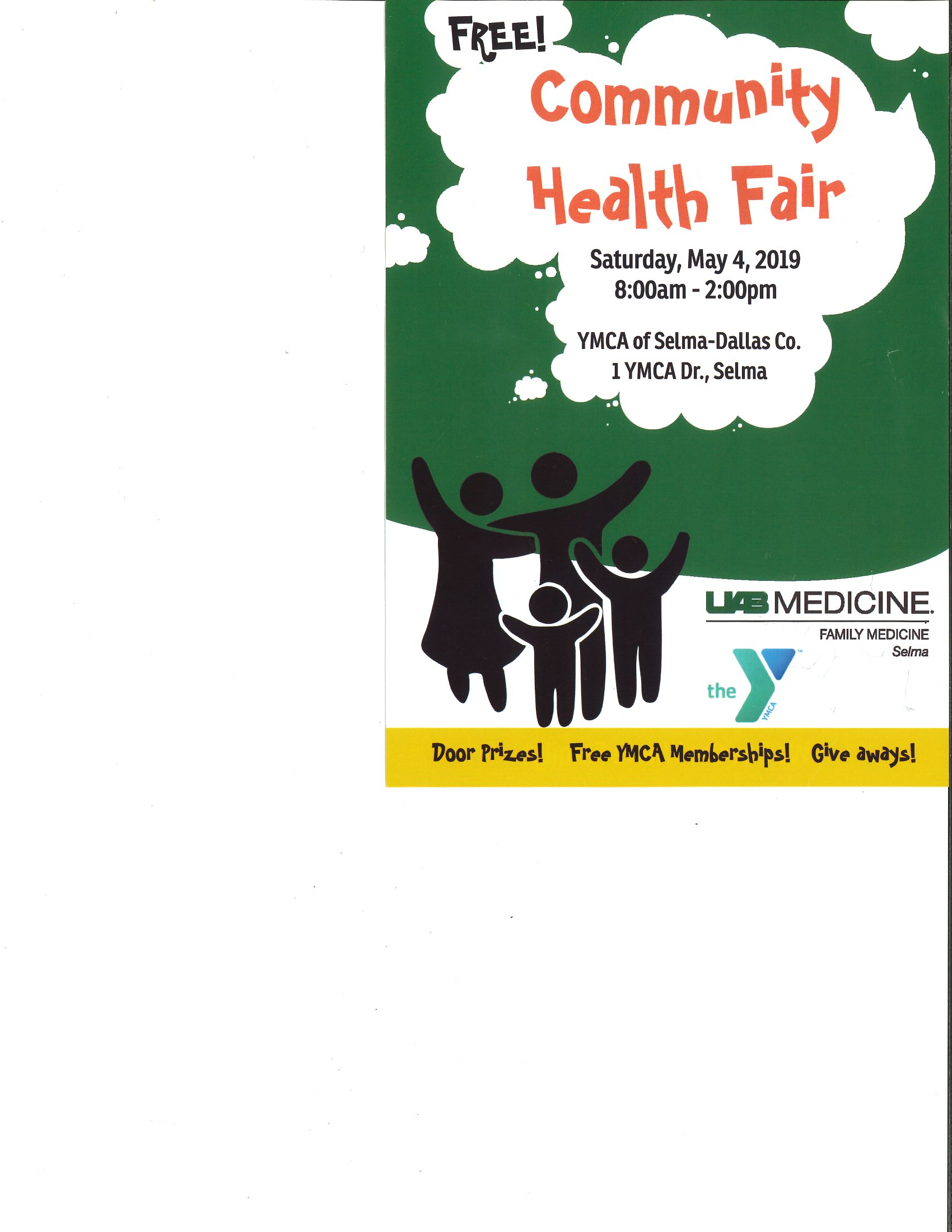 UAB Community Health Fair Page 2
