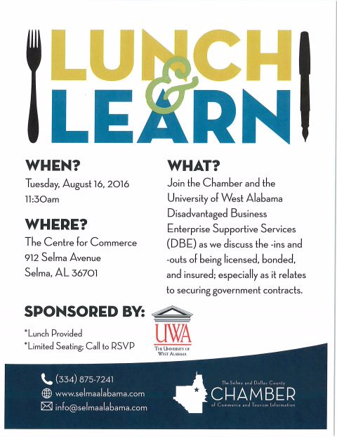 UWA Lunch and Learn