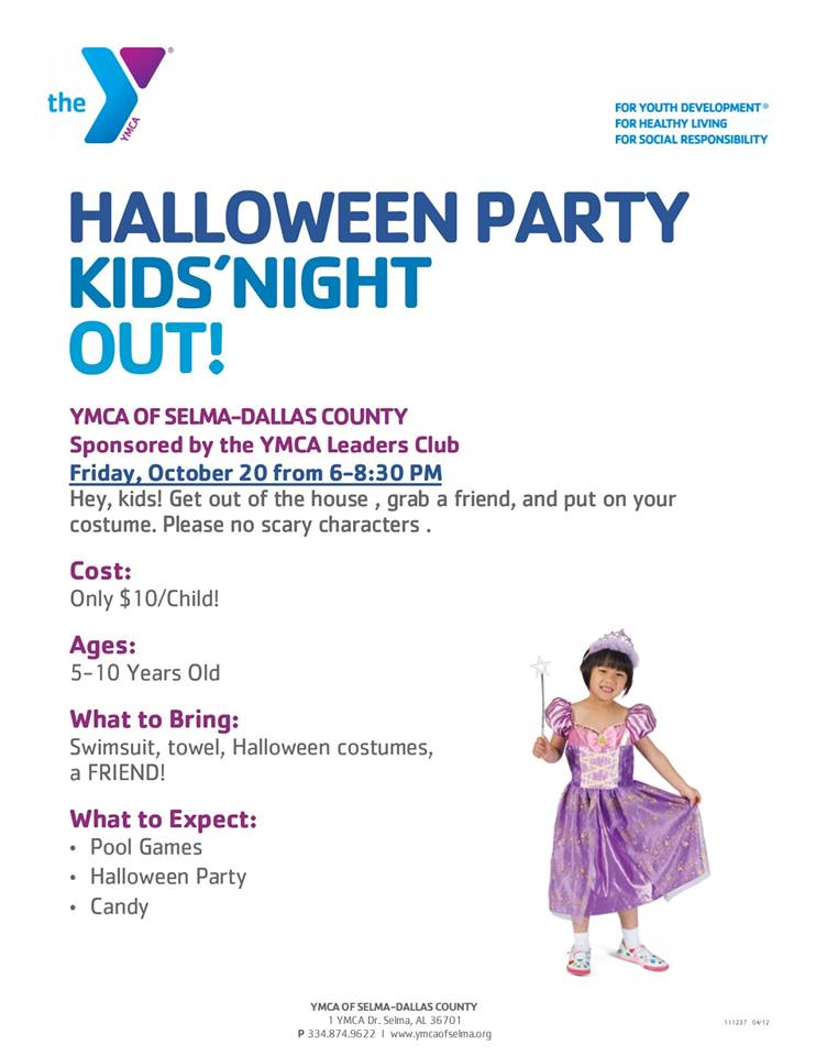 YMCA Kids Night Out