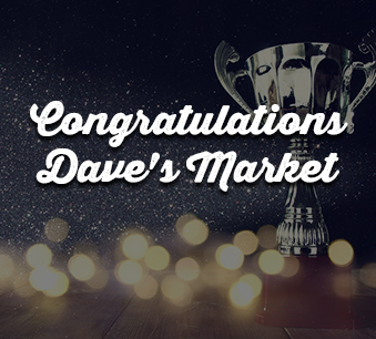 Dave's Market is a winner!