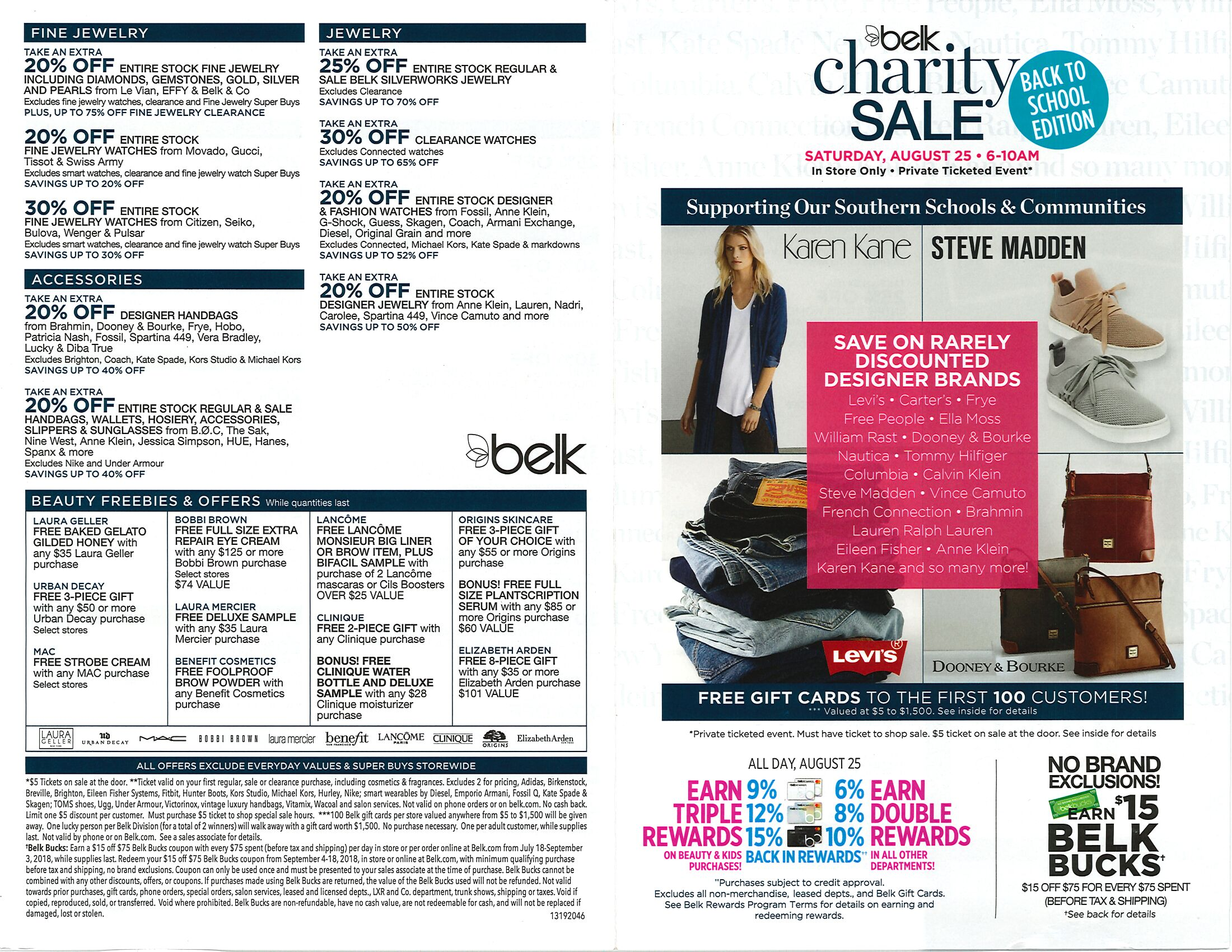Belk Charity Sale Page 2