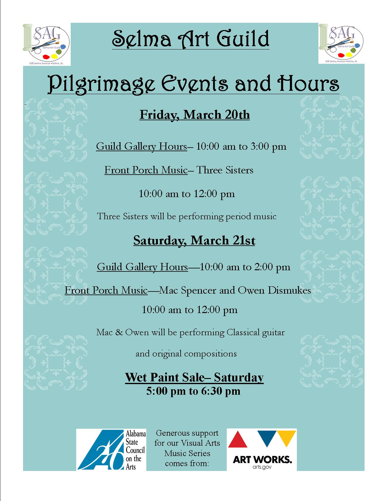 Selma Art Guild Pilgrimage Events.jpg